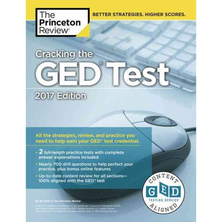 The Princeton Review Cracking the Ged Test 2017