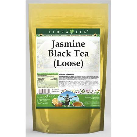TerraVita Jasmine Black Tea, (Jasmine, Loose Leaf Black Tea, 8 oz, 1-Pack, Zin: 531573)