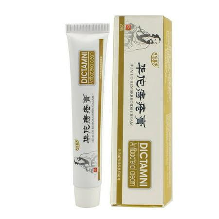 1pcs/pack 20g Chinese Medicine HuaTuo Herbal Hemorrhoids Cream, Powerful Hemorrhoids Ointment, Prolapse Hemorrhoids Medication, Musk Anal Fissure Antibacterial