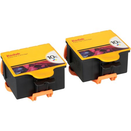 Kodak 10 C Color Ink Cartridge 2 Ct Box