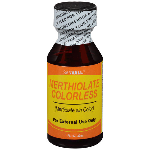 Sanvall Merthiolate Colorless 1 Oz