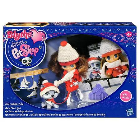 Littlest Pet Shop Blythe's Sitters Cold Weather Cutie Figure Set