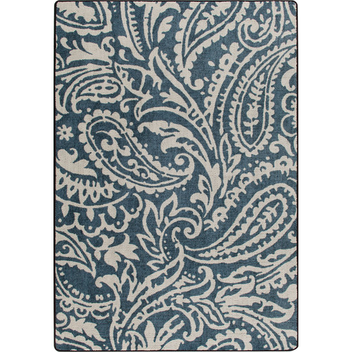 Milliken Mix and Mingle Blue Cashmira Empire Rug