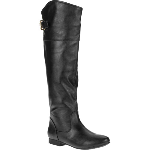 Laundry List Women's Zippered Riding Boot
