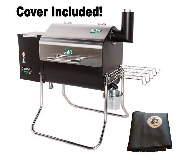 Green Mountain Grills Davy Crockett Pellet Grill with cover- WIFI enabled
