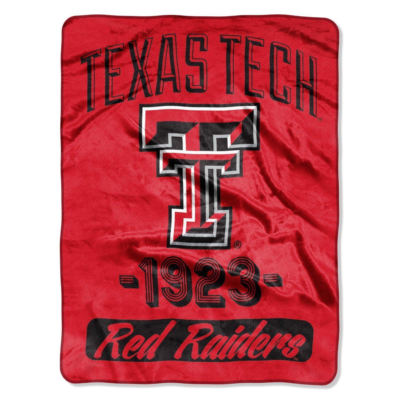 "NCAA Texas Tech Red Raiders ""Varsity"" 46"" x 60"" Micro Raschel Throw"