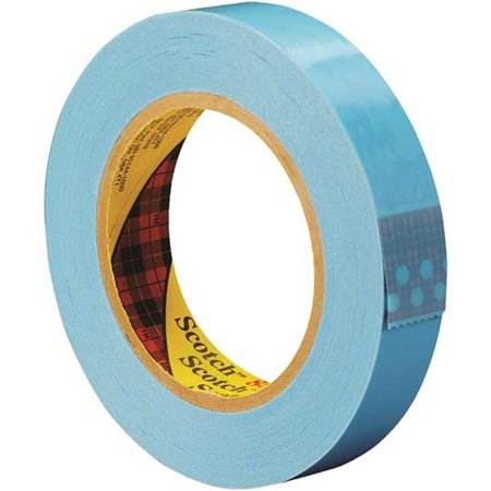 Scotch T915889612PK Blue #8896 Strapping Tape, 60 yd. Length, 1 Width Pack of 12