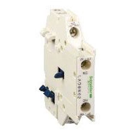 LAD8N11 690VAC 1NO-1NC Left Side Mounting Auxiliary Contact Block