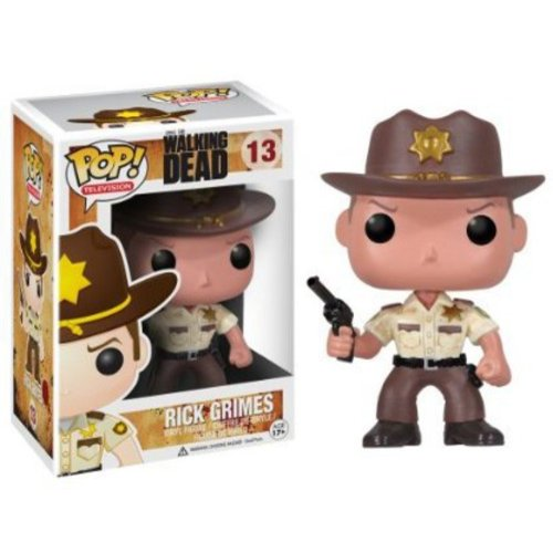 Funko Walking Dead Rick Grimes Pop! Vinyl Bobble Head Figure