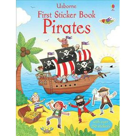 First Sticker Book Pirates (Usborne First Sticker Books)