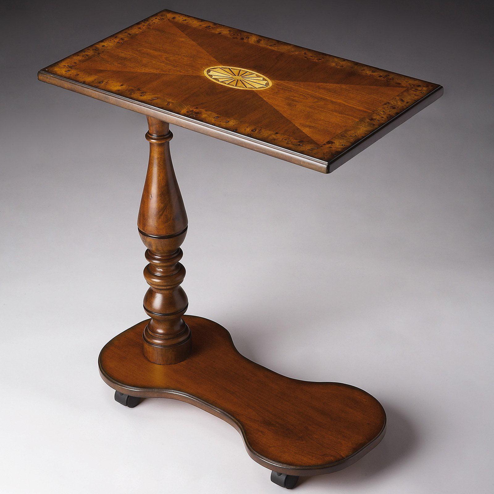 Butler Mobile Tray Table - Olive Ash Burl
