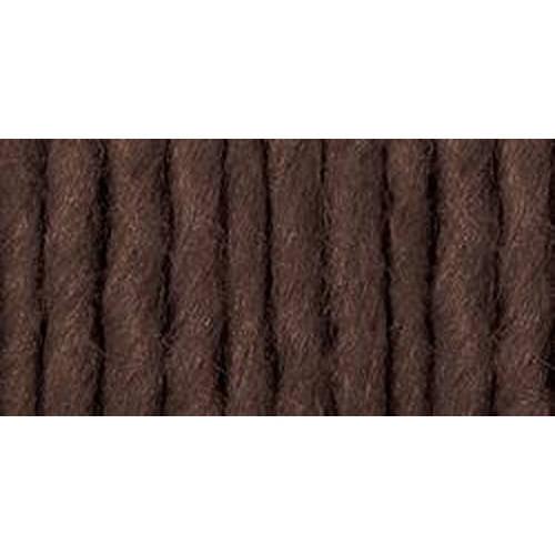 Roving Yarn, Chocolate Brown