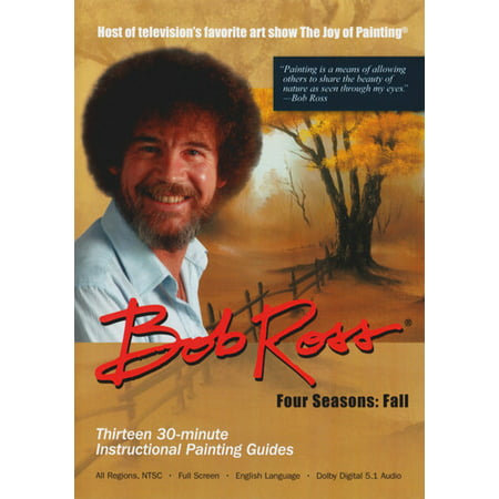 Bob Ross The Joy Of Painting: Fall Collection (Bob Ross Dvds)