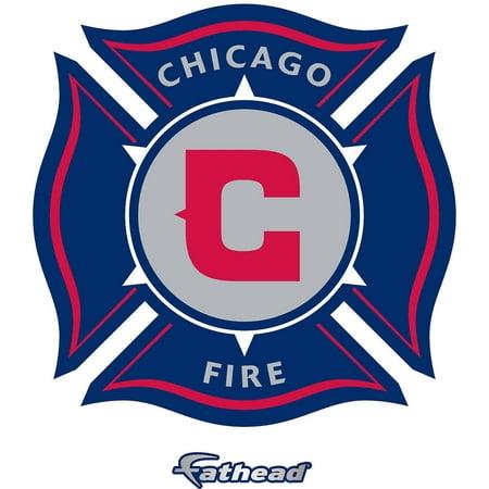 Fathead Chicago Fire Teammate Logo