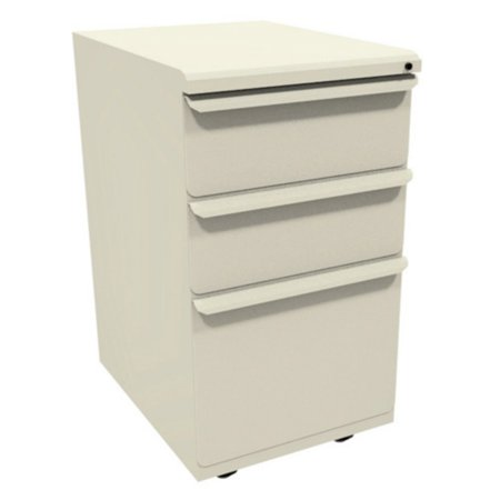Zapf Mobile Pedestal with 1 File Drawer and 2 Storage Drawers - 19 in.