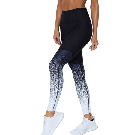 Women Sport Yoga Pants Fitness Leggings Running Workout Gym Stretch Waist Stretch Activewear Trousers