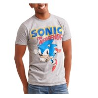 Sega Men's Sonic in Running Pose Short Sleeve Graphic T-Shirt