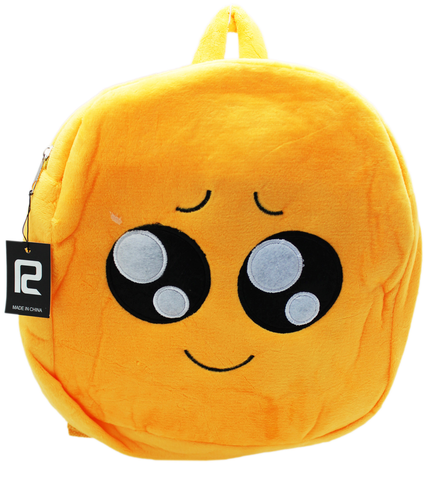 Joyful Watery Eyes Small Emoji Plush Backpack