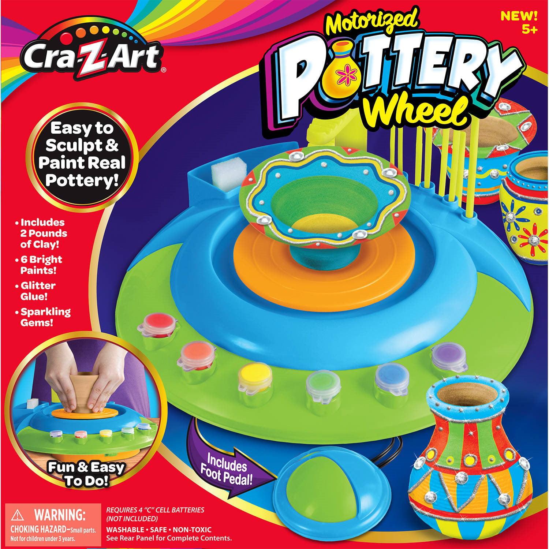 CraZArt Motorized Pottery Wheel by LaRose Industries