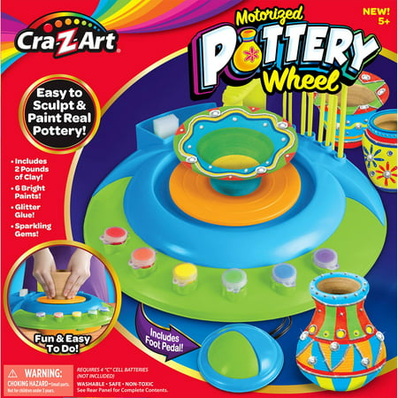 Professional Pottery Wheel (Cra-Z-Art Motorized Pottery Wheel)
