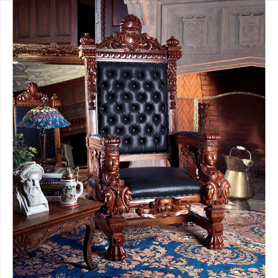 Design Toscano The Fitzjames Throne