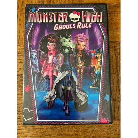 Monster High Ghouls Rule DVD (Ghouls Rule Dvd)