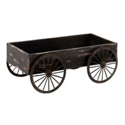 WooDecor Cart In Light Grey Background With Royalty Look