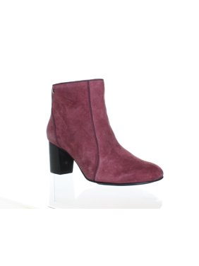 6c20741e306a Product Image Hush Puppies Womens Melodi Langdon Wine Suede Fashion Boots  Size 7.5 (C