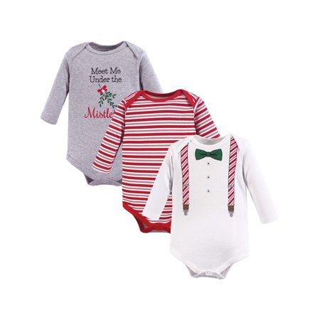 35d69f3fafb8 Holiday Long Sleeve Bodysuits