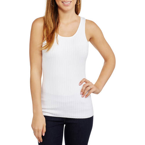 Mia Kaye Women's Racerback Tank Top Ribbed Sweater