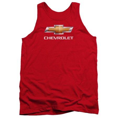 Chevrolet Automobiles Chevy Clic Bowtie Logo Stacked Tank Top Shirt