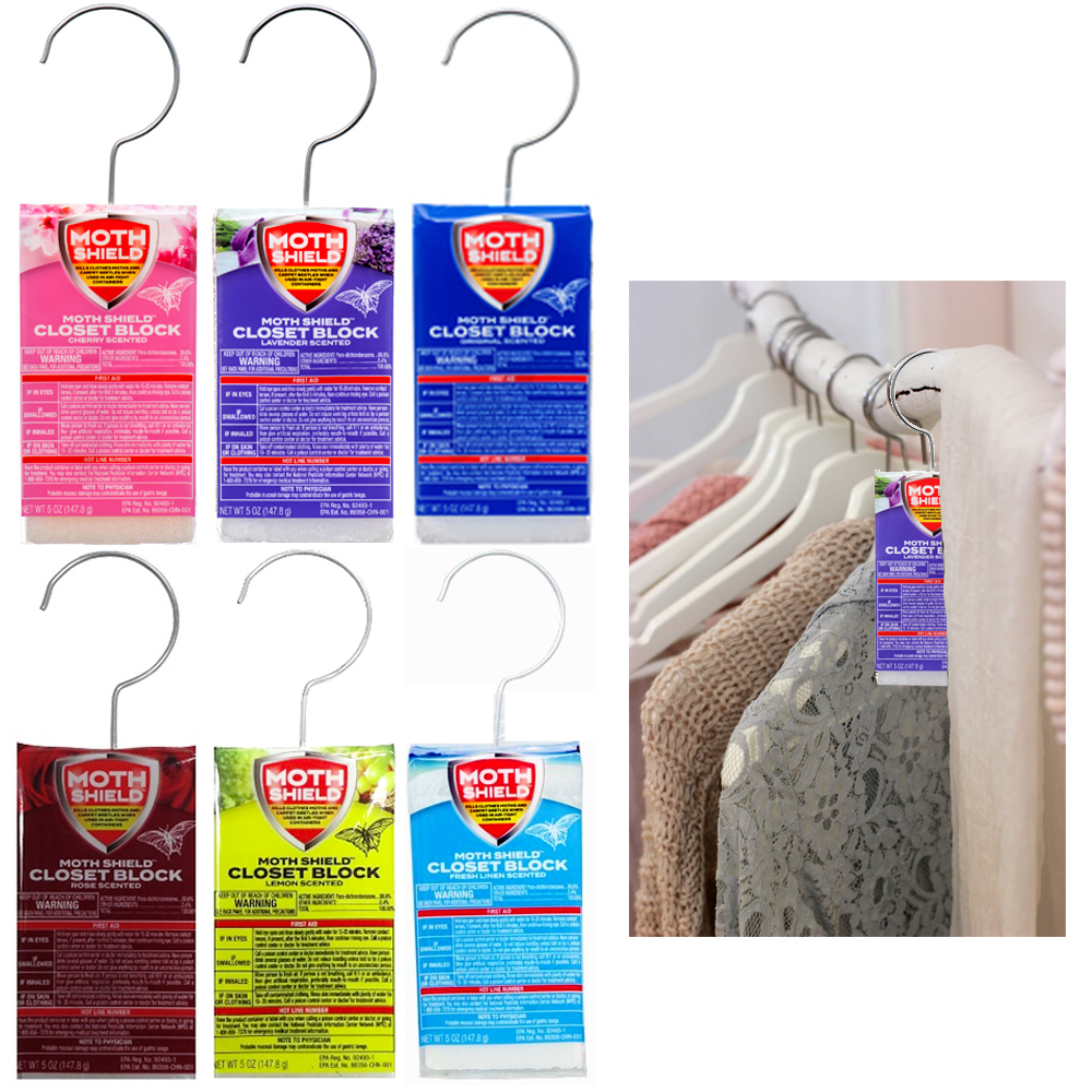 6 Pc Closet Deodorizer Air Freshener Scents Fragrance Odor Control  Neutralizer