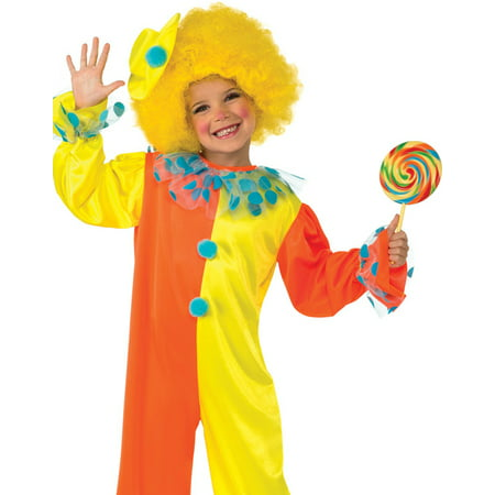 party clown kids jumpsuit fun toddler halloween fancy dress costume with hat s-l (Fun Halloween Snacks For Toddlers)
