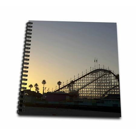 3dRose California, Santa Cruz, Santa Cruz Carnival - US05 RCA0088 - Rob Casey - Mini Notepad, 4 by