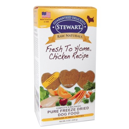 Miracle Corp Raw Naturals Freeze Dried Chicken Patty