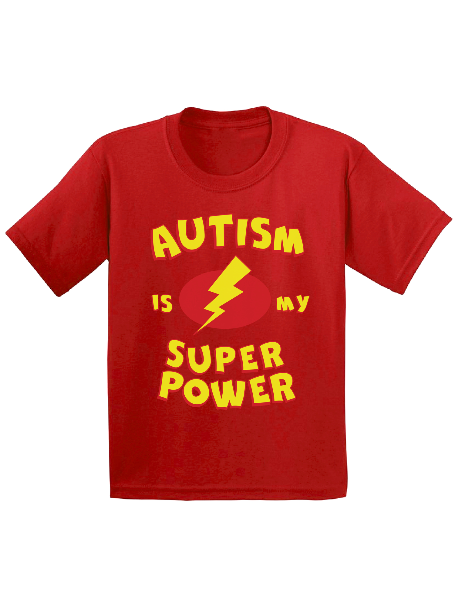 Awkward Styles Autism Is My Super Power Toddler Shirt Autism Awareness Shirts for Kids Autism Shirt for Boys Autism Is My Super Power Shirt for Girls Autism Gifts for Toddlers Support Autism Tee