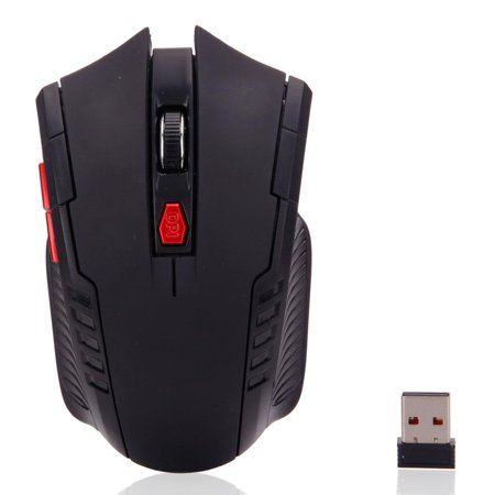 Ktaxon 6 Buttons 2.4GHz Wireless USB Receiver Optical Gaming Mouse Mice For
