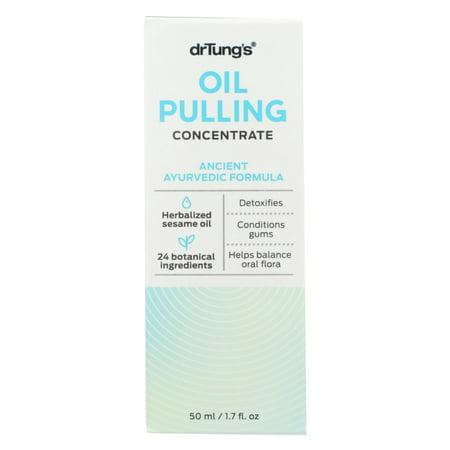 Ayurvedic Herbal Oil (Dr. Tung's Oil Pulling - Ancient Ayurvedic Formula - Case of 1 - 1.7)