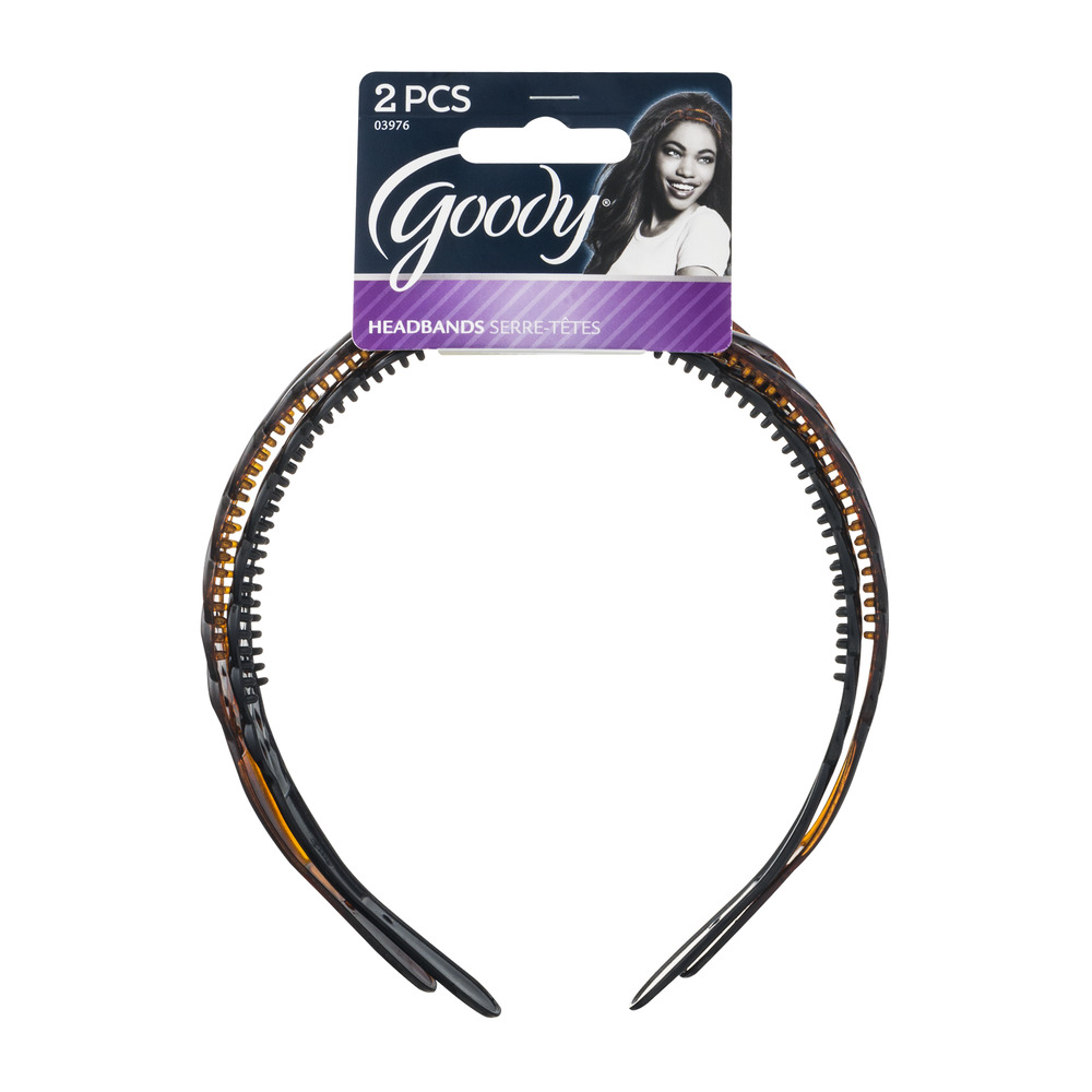 Goody Brooklyn Headbands, 2ct