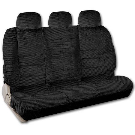 BDK Scottsdale Style Split Bench Car Seat Covers for Rear Seat
