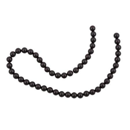 "Black Onyx Beads 8mm (16"" Strand)"