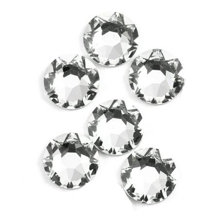 Swarovski 8mm Crystal Flatback 8mm Black Diamond Swarovski Crystal