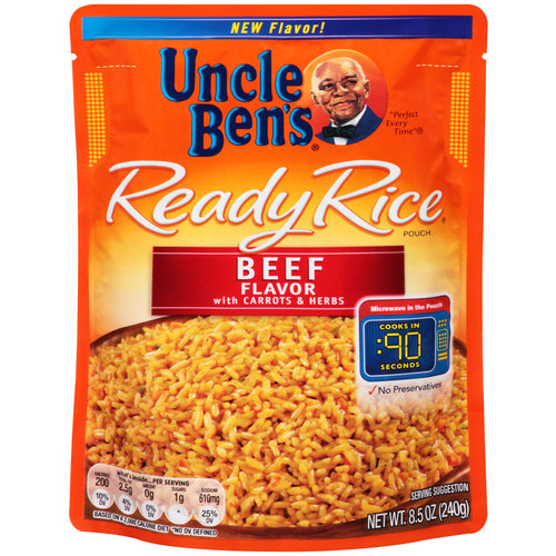 Uncle Ben's Ready Rice Beef Flavor with Carrots & Herbs, 8.5 oz