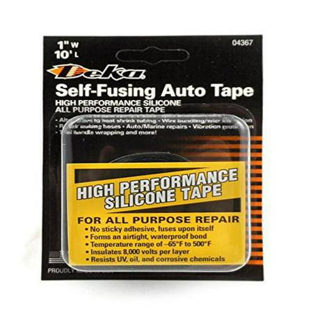 East Penn 04367 Black 10 Self Fusing Auto Tape