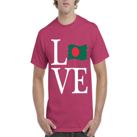 Love Bangladesh Men Shirts T-Shirt Tee