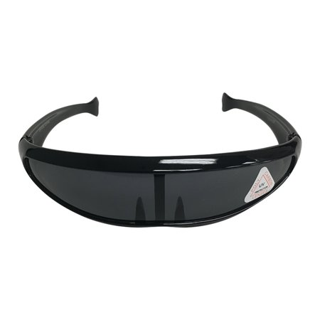 Black Robot Style Wrap Around Sunglasses  Cyclops Costume X-Men Robocop Alien - X Man Costume