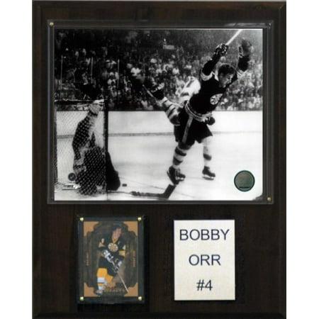 C & I Collectibles 1215BORR LNH Bobby Orr Bruins de Boston Player Plaque - image 1 de 1