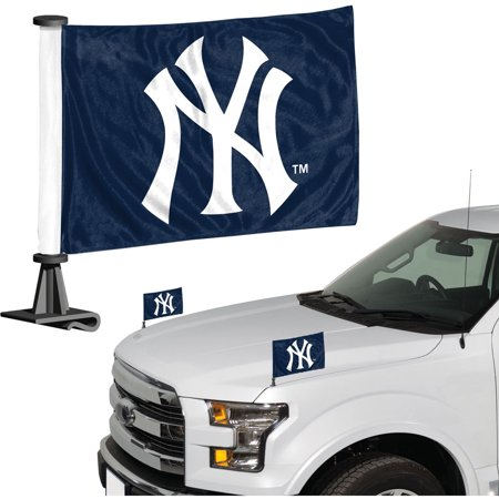 New York Yankees Auto Ambassador Flag Set - No Size