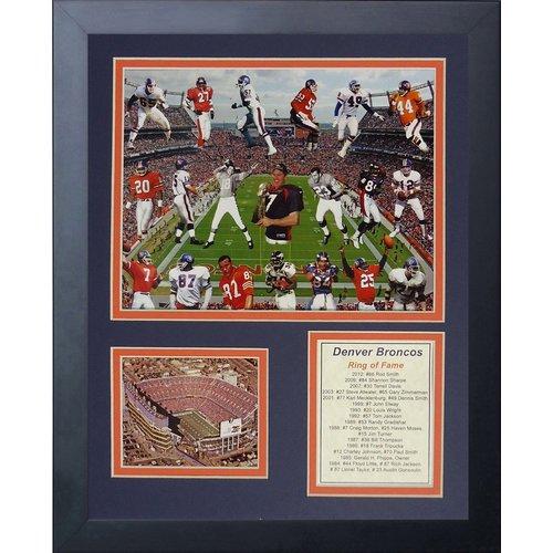 Legends Never Die Denver Broncos Bronco Greats Framed Memorabili
