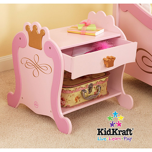 KidKraft - Princess Toddler Nightstand